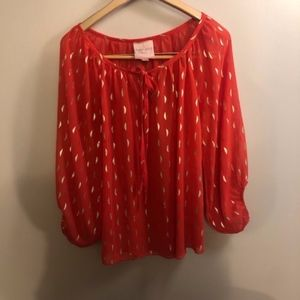 Romeo & Juliet Couture Blouse- Size Small